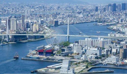 Cảng biển Osaka là cảng biển lớn nhất đất nước Nhật Bản