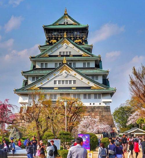 Lâu đài Osaka là lâu đài đẹp nhất Nhật Bản